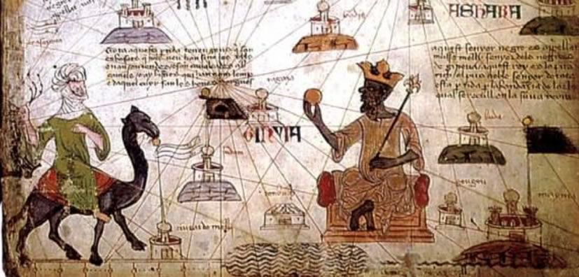 Mansa Musa World Map