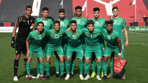 كأس العرب لأقل من 20 سنة ..تأهل المنتخب الوطني إلى دور نصف النهاية