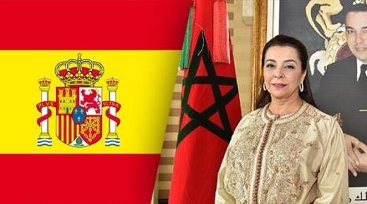 """سفيرة المغرب في إسبانيا تكشف تفاصيل مواكبة """"مغاربة عالقين"""""""