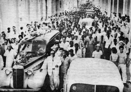 Frank Pais funeral