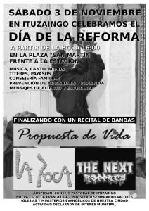 Afiche Día de La Reforma 2012