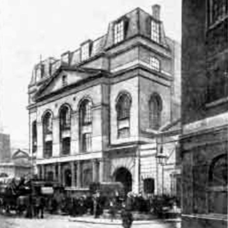 New Park Street Chapel - 1889