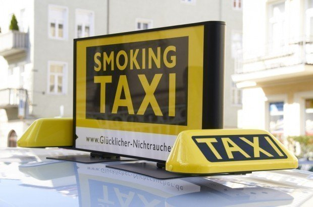 smoking taxi 2 620x411 - Nuovo tassista