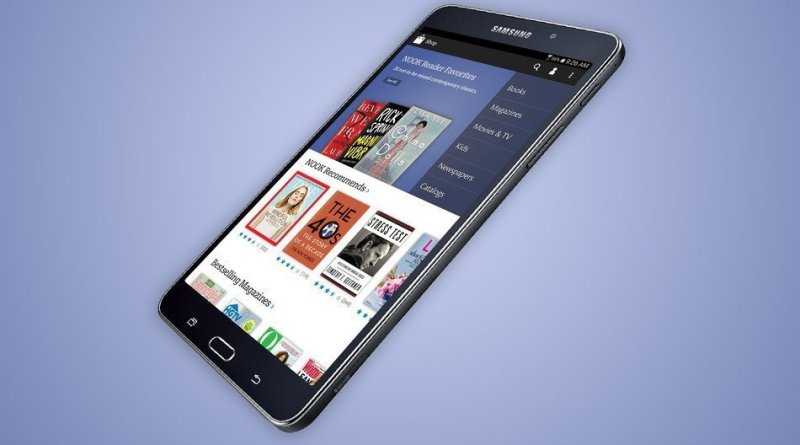 Samsung Galaxy Tab 4 Nook1 - Samsung e B&N annunciano il nuovo Galaxy Tab 4 Nook