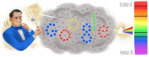 anders jonas angstroms 200th birthday - Il doodle di Google dedicato a Anders Jonas Ångström