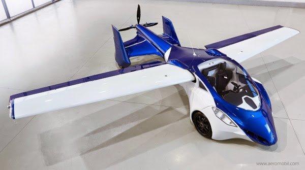 1414754055 AeroMobil 3 01 600x335 - L'automobile che vola
