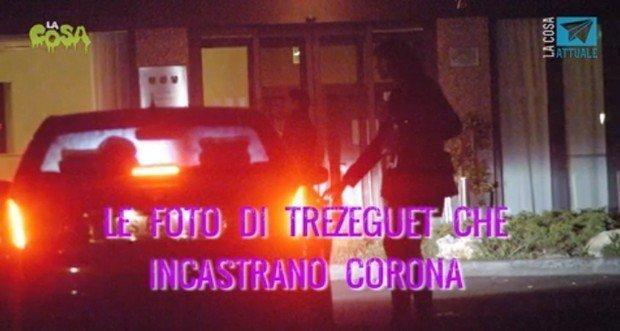 """foto trezeguet corona - Fabrizio Corona, la mamma a Beppe Grillo: """"È disperato, Napolitano conceda la grazia parziale"""""""