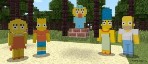 grazia di michele sanremo 2015 grazia di3 - I Simpson conquisteranno Minecraft