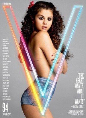 image - Selena Gomez posa nuda e piovono critiche
