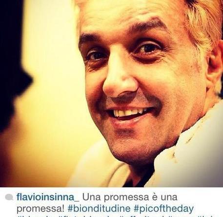 immagine45 - Flavio Insinna passa al colore biondo