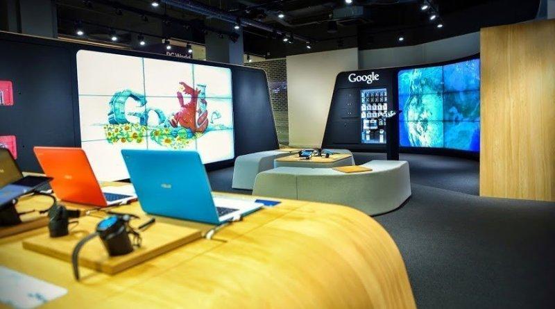 1 - A Londra apre il primo Google Store