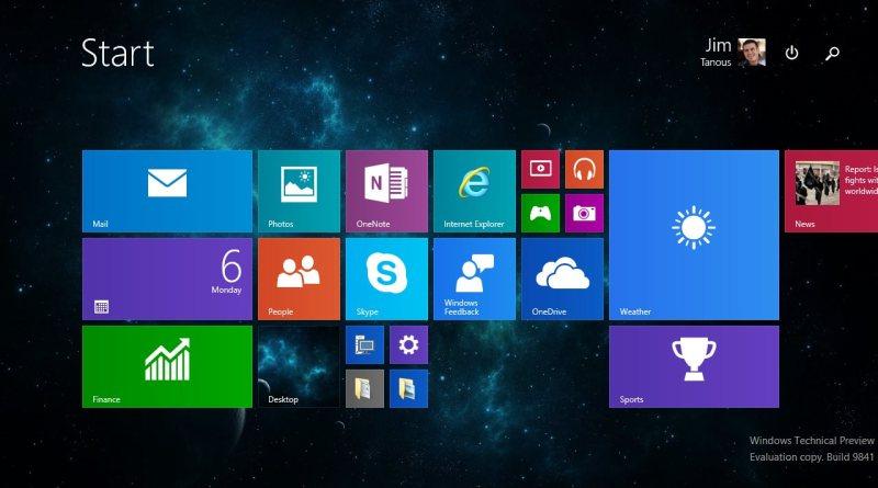 windows 10 start screen - windows 10: ecco quando uscirà ed il costo