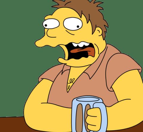 Barney Gumble - 5 cose schifose che gli uomini fanno ma alle donne non danno fastidio