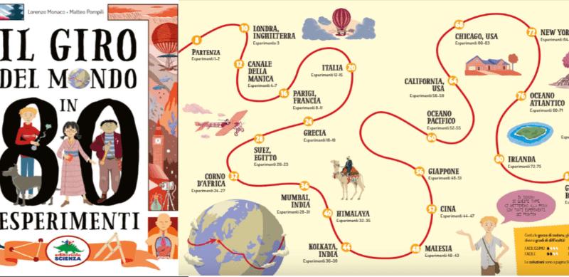 Anteprima80esperimenti 1 - Il giro del mondo in 80 esperimenti