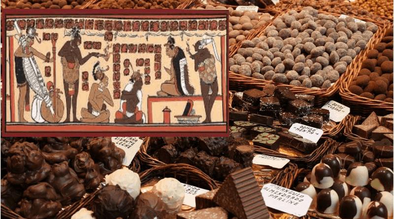 La storia del Cioccolato