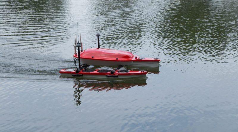 Droni acquatici per l'ambiente
