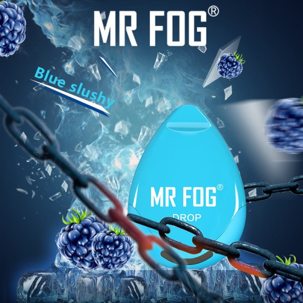 Mr Fog New Drop Blue Slushy