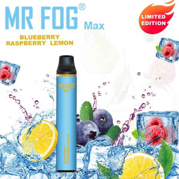 MR FOG MAX Blueberry raspberry lemon