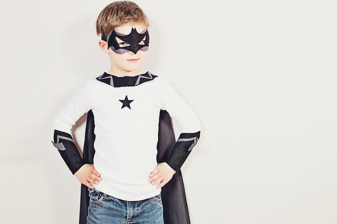 Superhero clothes for boys