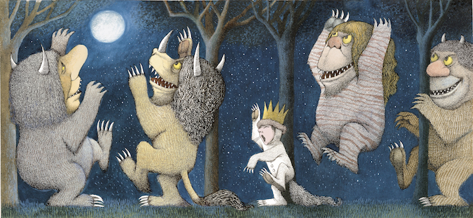 Reading notes for Where The Wild Things Are