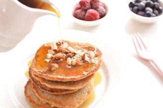 Chia Pancakes for Kids