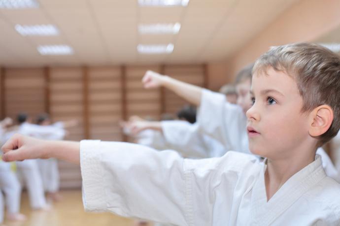 Sports in School Karate