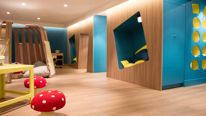 hotel kids club design