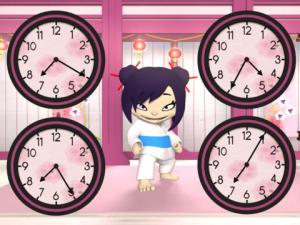 Learn to tell the time app ninja time