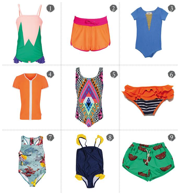 Best Girls Swimwear Beanie & Bear Sea Folly