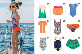 Best Girls Swimwear Beanie & Bear Sea Folly Mara Hoffman