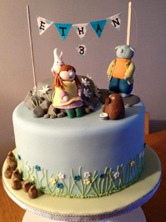 Abney Teal Cake