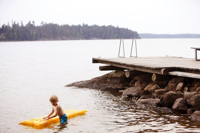 Finland lakes family holiday