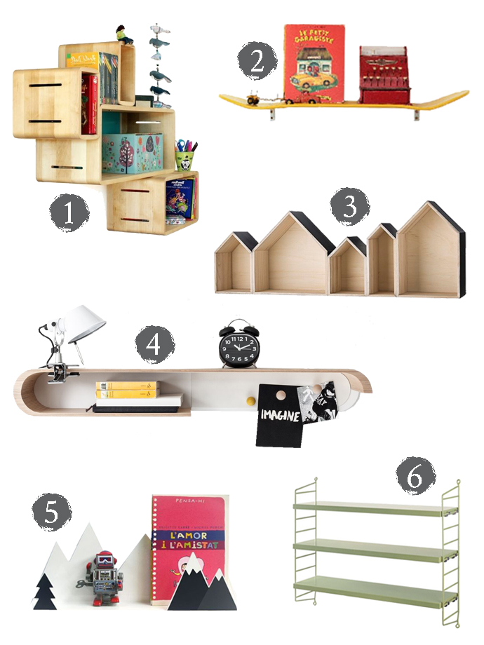 Wall Shelves For Kids Rooms