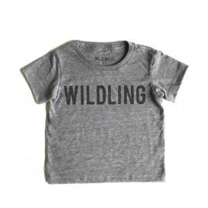 Cool Slogan T-Shirts for Kids: Wilding Kids Wildling t-shirt