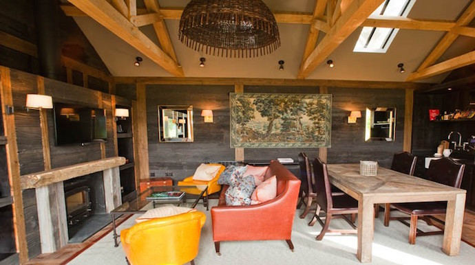 Best Country Hotels for Family Weekends - Forest Cabins Lime Wood