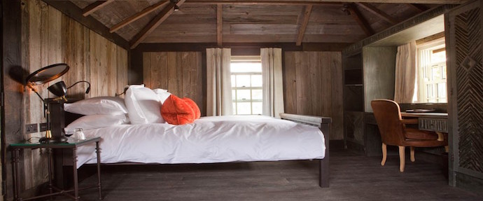 Best Country Hotels for Family Weekends - Lime Wood Forest cabin