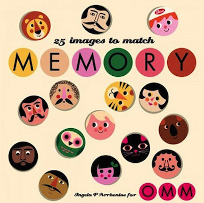 Face memory game OMM design