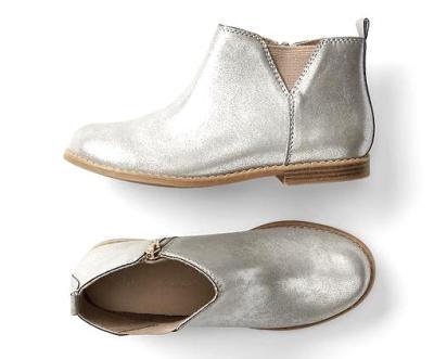 GAP kids metallic boots