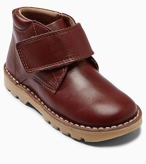 Next Boys Conker Leather Desert Boots