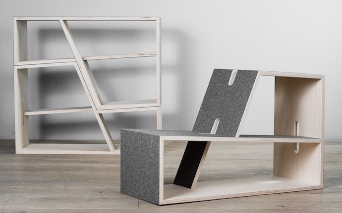 Perludi Pauli shelves