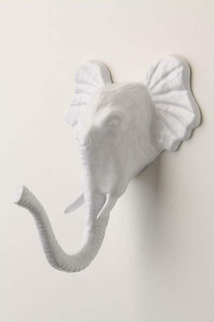 Anthropologie Elephant Wall Hook