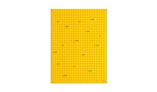 Block peg board