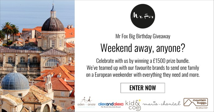 Mr Fox Family Weekend Giveaway
