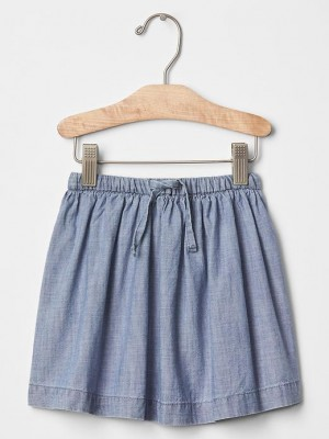 Gap Chambray Skirt