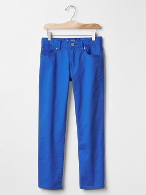 Gap Boys Color Slim Fit Jeans