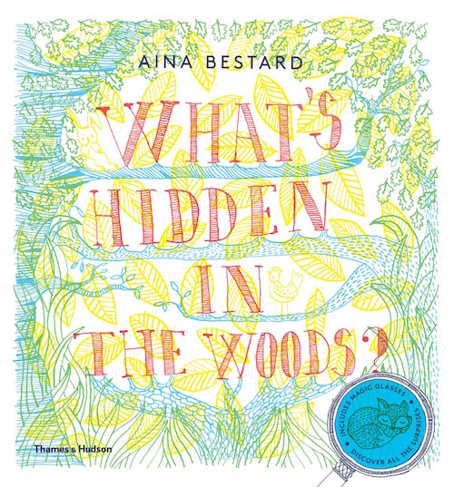 Whats Hidden in the Woods Book for Kids