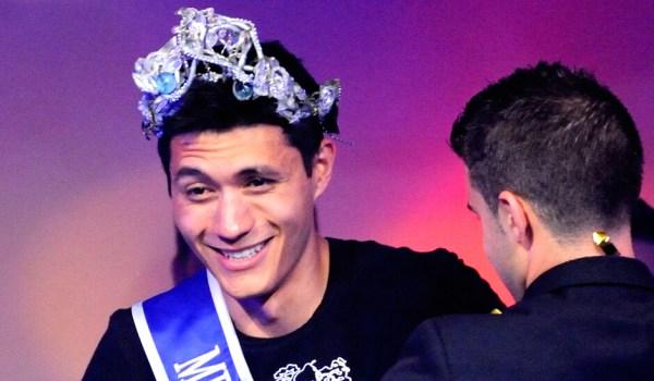 Robbie O'Bara wun the title of Mr Gay Europe in Prague, July 30, 2013