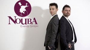Executive producers will be Nouba Events represented by Dieter Sapper (right) and Emanuel Wiehl.