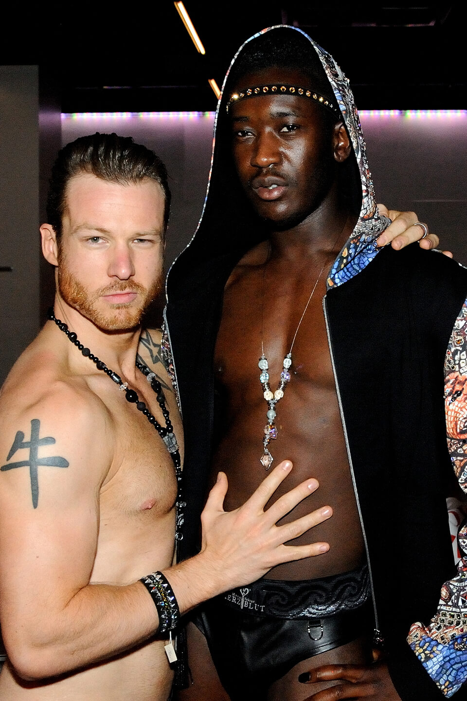 Posing with Mr Gay Germany
