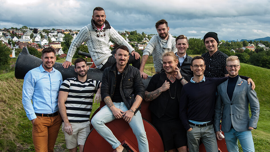 Mr Gay Europe in Trondheim